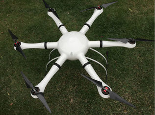 China Police Surveillance Hexacopter Carbon Fiber Airframe 1080P/60fps real-time 5--15km Video Transmission supplier