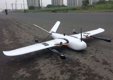 China Tilting Motor Automatically VTOL Drone Tailored For Your VTOL Applications 1.8Meters Wingspan 80Km Flight Distance supplier
