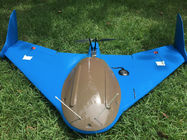 fixed-Wing Drone, 90mins flight time Flight Distance:80Km special for mapping,Google Map Multi-Point Navigation