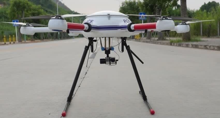 China Trump UAV 60min Flight Time Counter Terrorism For Police And Military Supplier