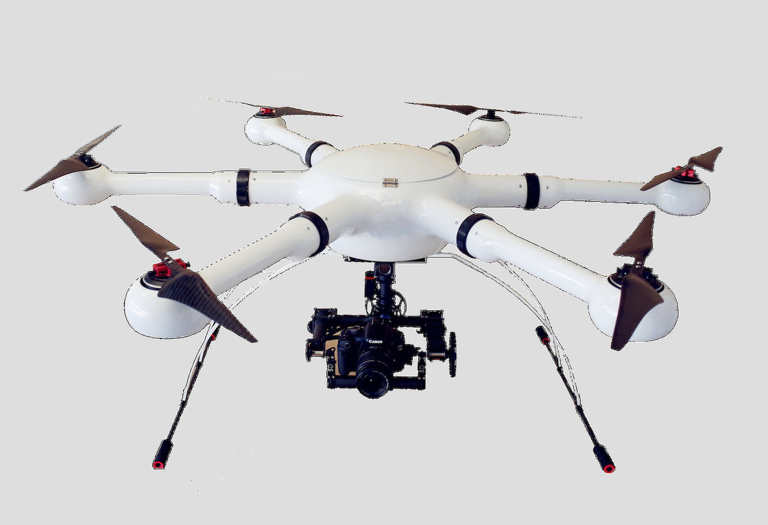 Police  Hexacopter Drone  for Police and Military Surveillance