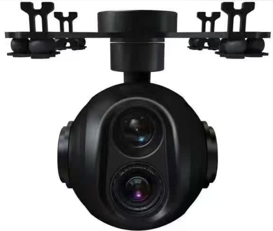 Dual Zoomable And Thermal Imaging Integrated Camera For Military Surveillance640 Flir 18 30 Zoom