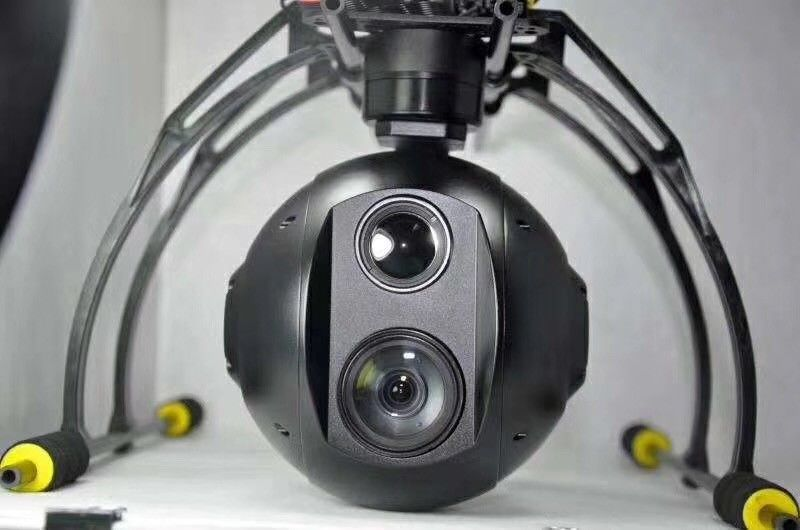 10* 20* 30* Optical EO/IR Sensor  Dual Zoom Camera and Target  Locking System For Military Drone Surveillance
