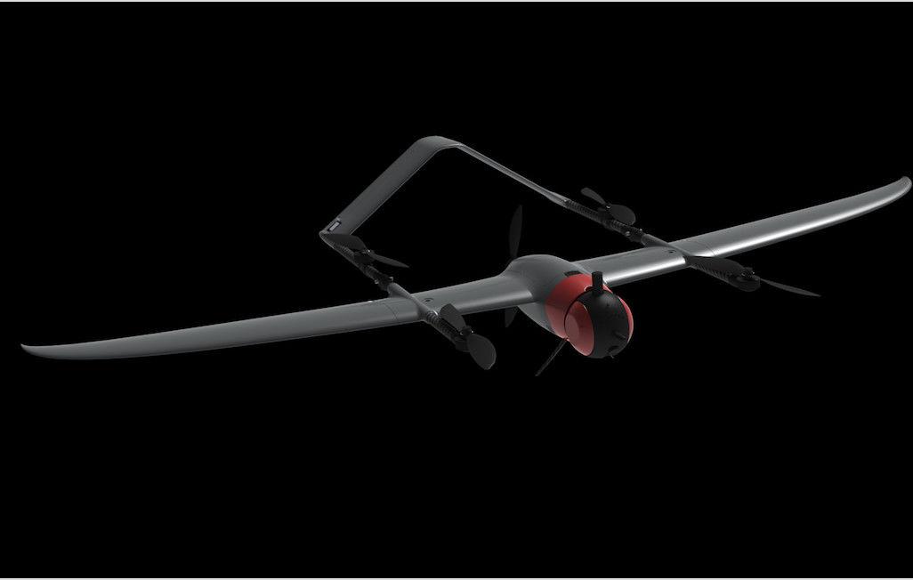 New VTOL Drone 180Mins Endurance 180Km Range 2 5M Wingspan Mapping