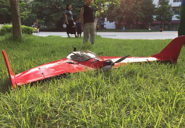 RTK fixed-wing drone Flight Distance:80Km Auto and Manual Shooting for Surveillance and Mapping