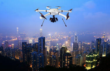 Hexacopter GLH5 Pure Carbon Fiber 60mins Duration,5KM Flight Distance and Autopilot for Police Special Tasks