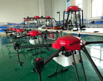 Autonomous Obstacle Avoidance  Agricultural  Spraying Drone,Carbon Fiber Frame 15Kg Payload with 6 Spray Nozzles