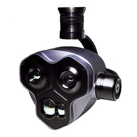 New Military Zoom Triple Camera EO/IR Target Locking 5KM Distance Measurement,Target  Location Calculating,4.08MP HD