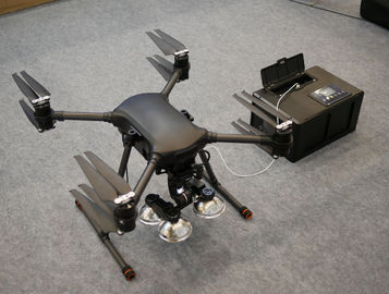 Tethered Drone Platform with   Tethered Power Supply and an Integrated Ground Power Box Continuously Flight 3Kg Payload