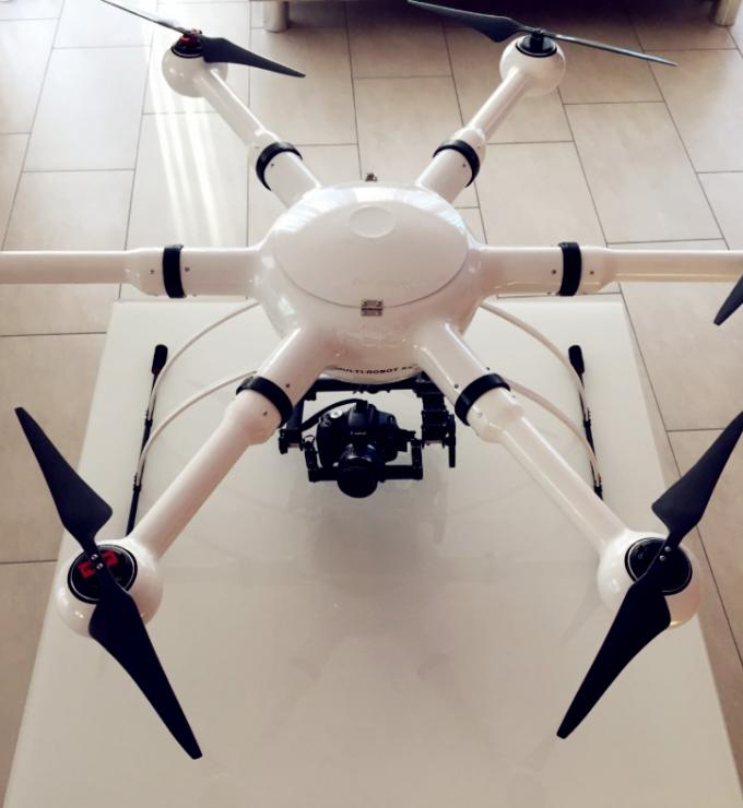 GPS Google Mapping Multi-Point Navigation Hexacopter Pure Carbon Fiber Frame,Special for Police Surveillance
