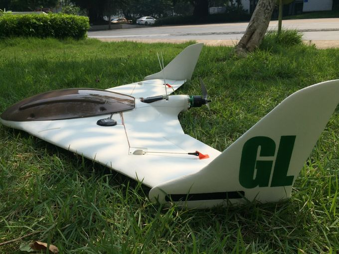 GLG Fixed-Wing Drone, 90mins,GCS Remote Control Camera :80Km,Google Map Multi-Point Navigation for coastal surveillance